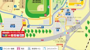 雁ノ巣施設マップ